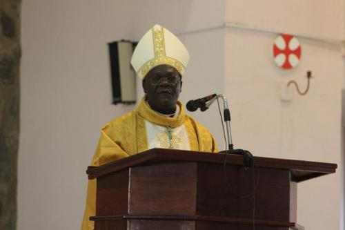 First Mass of Archbishop Banda